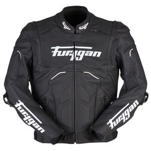 Furygan Raptor Evo 2 Black White Motorcycle Jacket