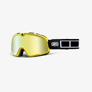 100% Barstow Burnworth Gold Mirror Goggle