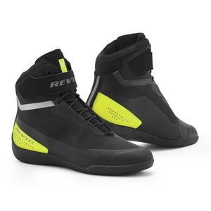 REV'IT! MISSION CHAUSSURES MOTO NOIR JAUNE NEON