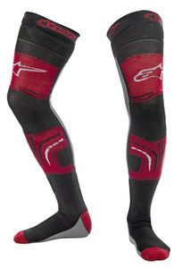 Alpinestars Red Black Gray Socks