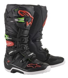Alpinestars Tech 7 Black Red Green