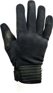 Helstons Simple Homme Hiver Amara/4Ways Black Motorcycle Gloves