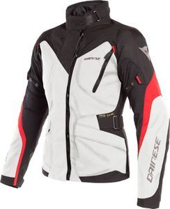 Dainese Tempest 2 D-Dry Lady Light Gray Black Tour Red