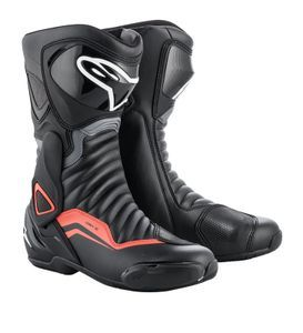 Alpinestars SMX-6 V2 Black Gray Red Fluo