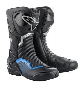 Alpinestars SMX-6 V2 Black Gun Metal Blue