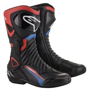 Alpinestars Honda SMX-6 V2 Black Red Blue