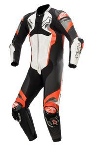Alpinestars Atem V4 White Black Red Fluo Gray 1 Piece