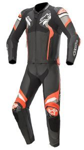 Alpinestars Atem V4 Black Mid Gray Red Fluo 2 Piece