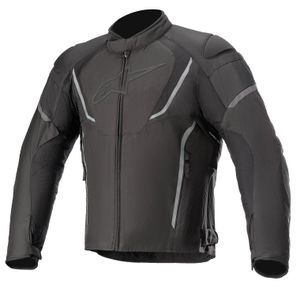 ALPINESTARS JAWS V3 BLACK LEATHER JACKET