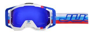 Just1 Iris M2 White Blue Red