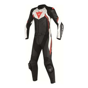 Dainese Avro D2 Black White Red-Fluo 2PCS