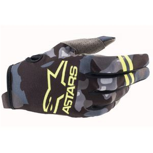 Alpinestars Radar Gray Camo Yellow Fluo