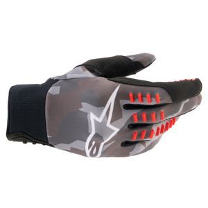 Alpinestars Smx-E Gray Camo Red Fluo