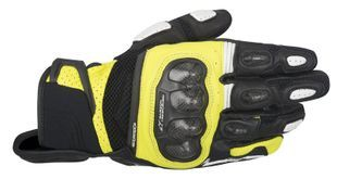 Alpinestars SP X Air Carbon Black Yellow Fluo