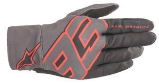 Alpinestars Aragon Gants Moto Noir Anthracite Rouge