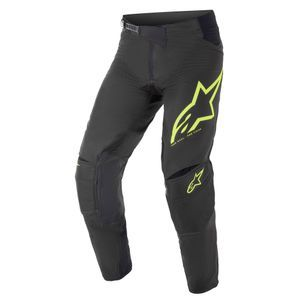 Alpinestars Techstar Factory Black Yellow Fluo