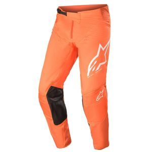 Alpinestars Techstar Factory Orange Off White