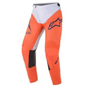 Alpinestars Racer Braap Orange Light Gray Dark Blue