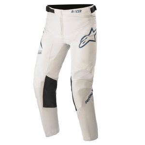 Alpinestars Youth Racer Braap Light Gray Dark Blue