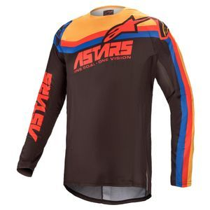 Alpinestars Techstar Venom Black Bright Red Orange