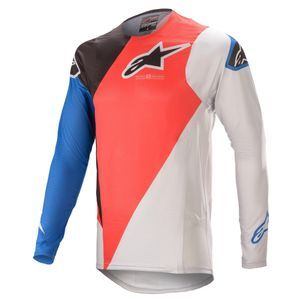 Alpinestars Supertech Blaze Bright Red Blue