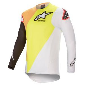 Alpinestars Supertech Blaze Yellow White