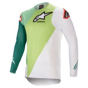 Alpinestars Supertech Blaze Green Dark Green