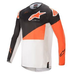 Alpinestars Techstar Factory Anthracite Orange Off White