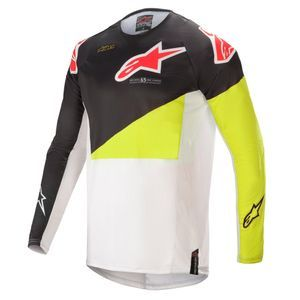 Alpinestars Techstar Factory Black Yellow Fluo Off White