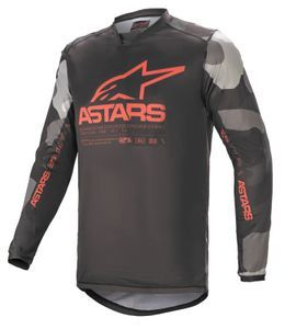 Alpinestars Racer Tactical Gray Camo Red Fluo