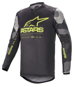 Alpinestars Racer Tactical Gray Camo Yellow Fluo