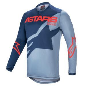 Alpinestars Racer Braap Dark Blue Powder Blue Br Red