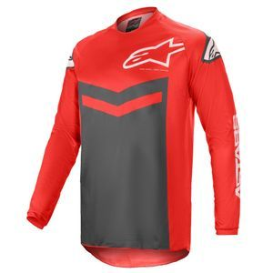 Alpinestars Fluid Speed Bright Red Anthracite