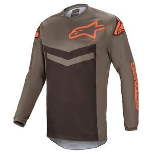 Alpinestars Fluid Speed Dark Gray Orange