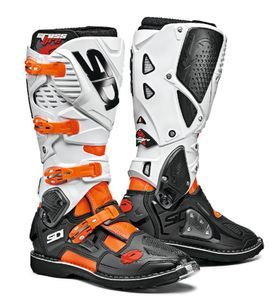 Sidi Crossfire 3 Orange Fluo Black White