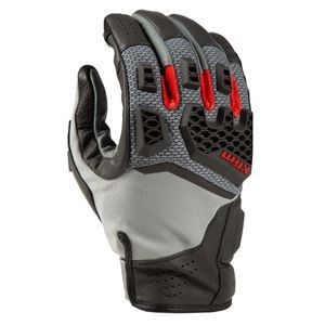 KLIM Baja S4 Momument Gray Red Rock