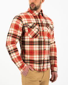 Rokker Phoenix Rider Shirt Red Black Beige