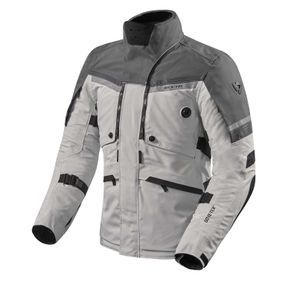 REV'IT! Poseidon 2 GTX Chaqueta Motorista Plata Antracita