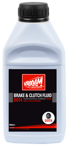 VROOAM BRAKE & CLUTCH FLUID PLUS DOT4 0.5 L