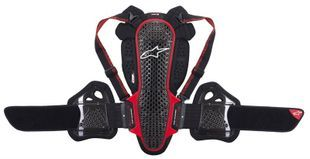 Alpinestars Nucleon KR-3 Smoke Black Red
