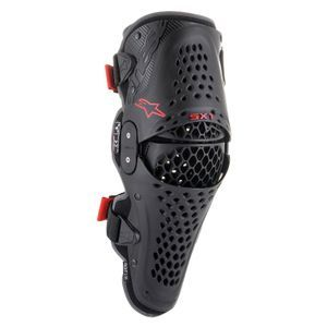 Alpinestars SX-1 V2 Black Red Knee