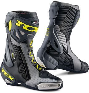 TCX Rt-Race Pro Air Black Grey Yellow Fluo