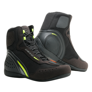 Dainese Motorshoe D1 Air Black Fluo Yellow Anthacite Shoes