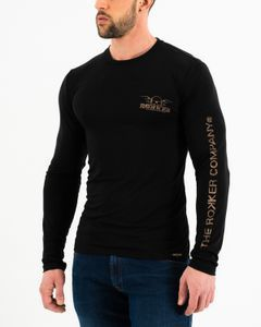 ROKKER Performance Trc Long Sleeve Black