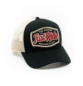 ROKKER Just Ride Trukker Black Beige Cap