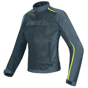 Dainese Hydra Flux Lady Black Gray Fluo Yellow D-Dry