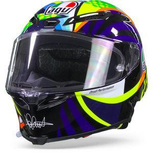 AGV Pista GP RR Rossi Winter Test 2020