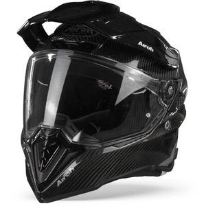 Airoh Commander Casque Aventure Full Carbone Brillant