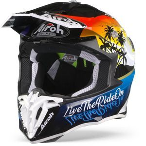 Airoh Twist 2.0 Lazyboy Casco Motocross