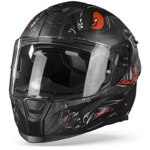 Nexx SX.100R Abisal Black Red Matt